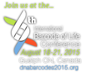 International Barcode of Life Conference August 18-21, 2015
